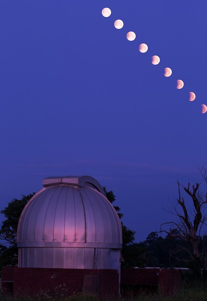 Lunar eclipse of May 26th 2021