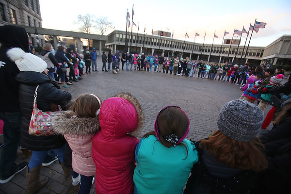 Girls Scouts hold vigil 111018