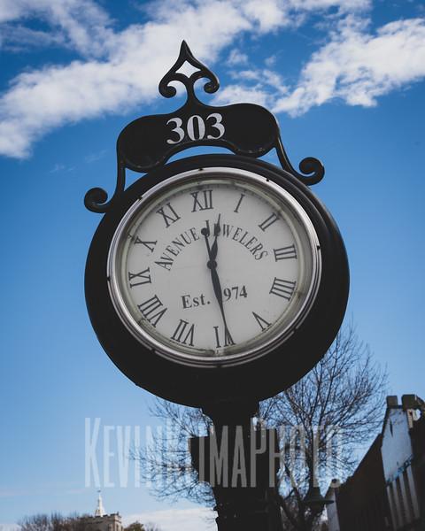 Avenue Jewelers Clock