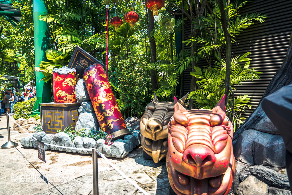 Halloween Horror Nights 7 Before Dark 2 Preview Update / Happy Horror Days scare zone - Chinese New Year holiday overview