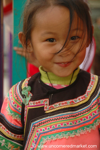 Hani Girl - Yunnan, China