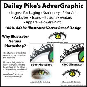 Dailey Pike - Graphic Design Including Logos, Print/Web Ads & Banners, CD/DVD Cover & Labels, Lower Thirds, Packaging