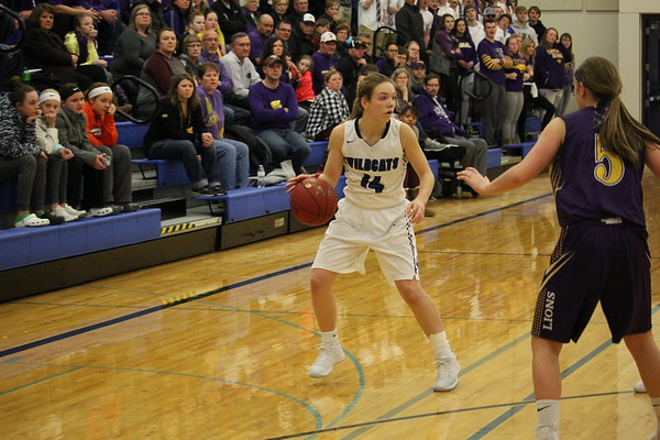 WL girls' basketball Class 2A Region 1 tournaments with Central Lyon 2-13-18