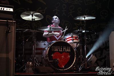 Simple Plan @ Music Box (Hollywood, CA); 10/28/11