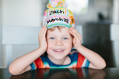 Zach's 4th Birthday