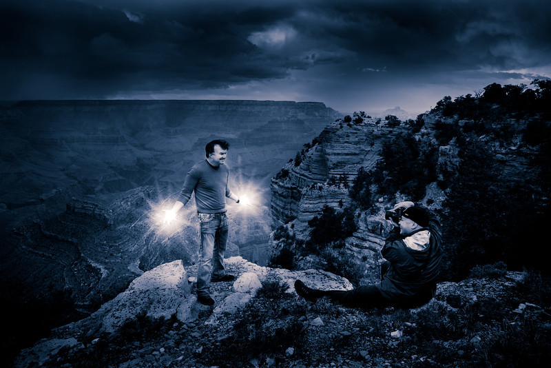 The Grand Canyon, portraits of Kevin Burdick