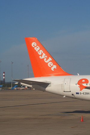 Airbus A319's of easyJet Airline