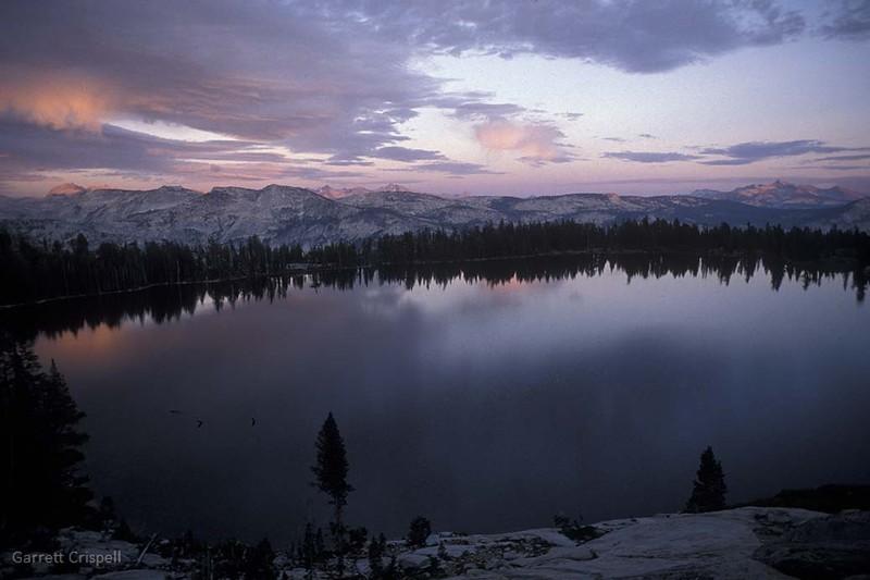 May Lake Sunset I