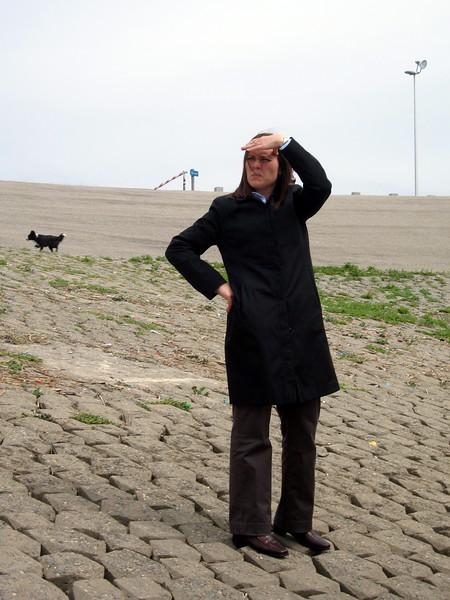 Darrene surveys the Rijnland District Water Control Board