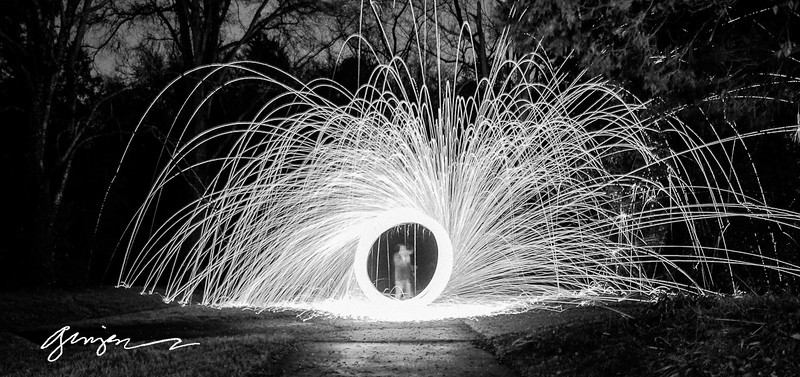 Steel Wool Photographs