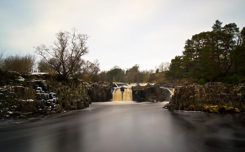 Low Force Waterfall, Teesdale