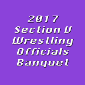 2017 Section V Wrestling Officials Banquet