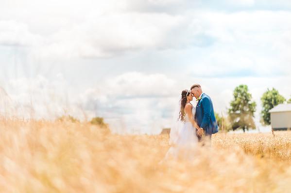 Mr. & Mrs. Johnson l A Peacock Ridge Wedding