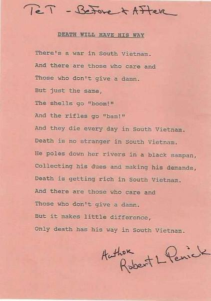 Poetry of Robert L. Penick