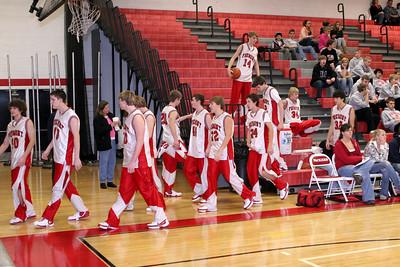Boys JV Basketball - 1/17/2008 Ludington