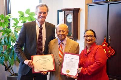 2016 UWL Professor Rafique Ahmed Retired 31 Years