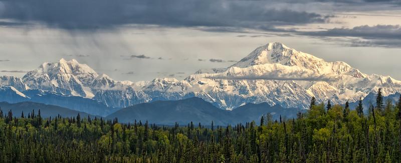 Mt. Hunter and Denali