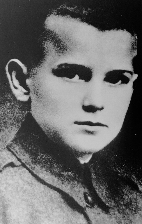 . Pope John Paul II, born Karol Wojtyla, is seen in this file picture when he was 12, in Wadowice, Poland. (AP Photo)