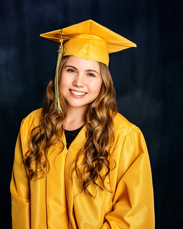 Aubrie Cap and Gown