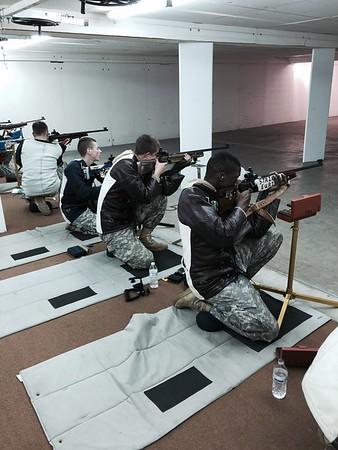 Caissons Rifle Team