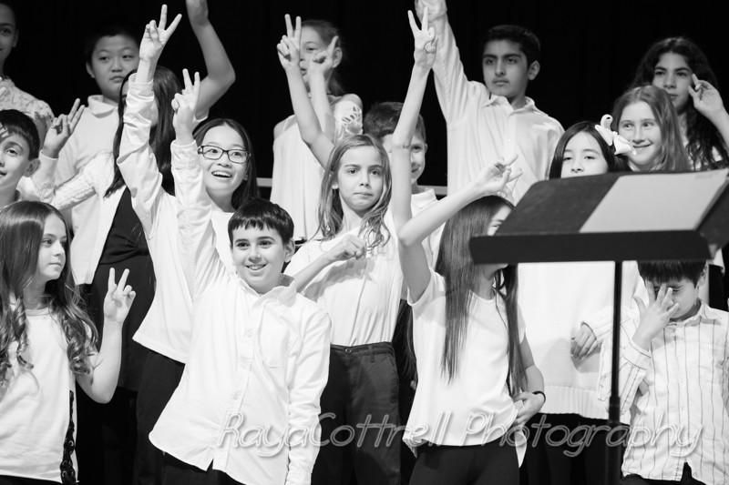 Heathcote 4th & 5th Grade Winter Chorus Concert