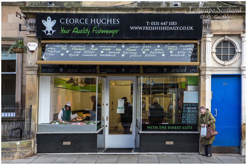 George Hughes fishmonger, Bruntsfield