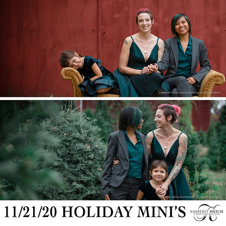 2020 Holiday Mini Session Packages