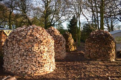 Holz Hausens