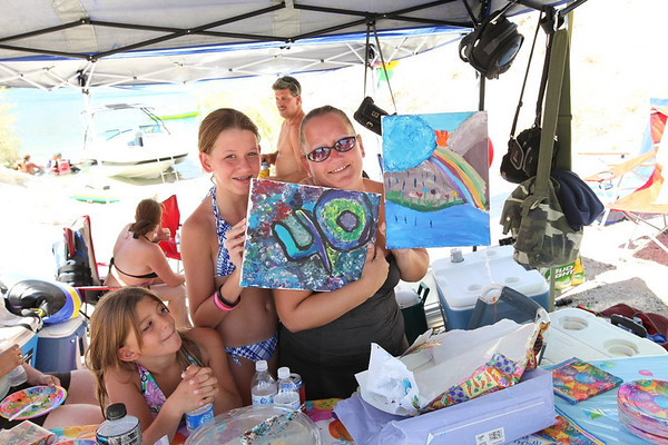 Aug '10: Laughlin AZ - Tracey's 40th Bday Day At The Lake