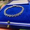 10.50ctw Round Brilliant Diamond Tennis Bracelet 8