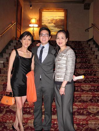 AOA Banquet For Honor Medical Society  Award @ Jonathan Club May 16, 2013