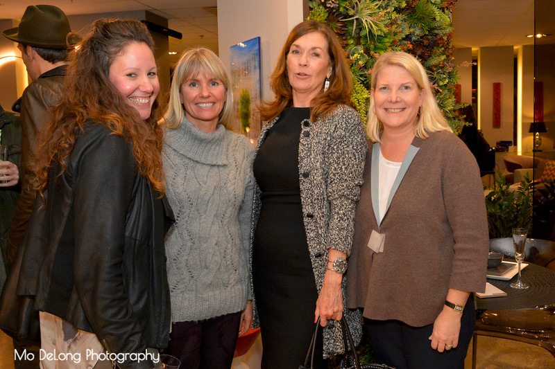 Sarah Mansoori, Ive Haugelan, Val Steele and Kate Webster