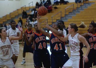 12/01/2009 BHS Girls JV Basketball - Butler VS Vance