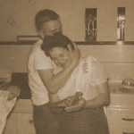 Sharons parents Gilbert and Cecilia