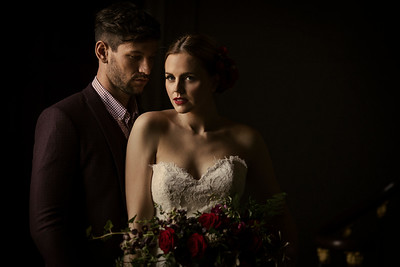 Flamenco Styled Shoot at Stubton Hall Collection