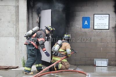 Citizen's Engine Co. 2 Live Burn - Fairfield Regional Fire School - 8/14/2021