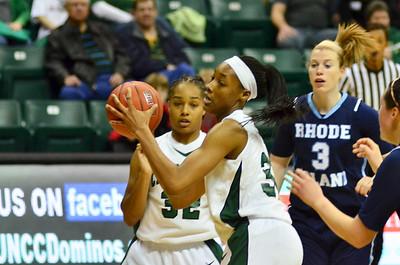 2012-02-04 UNCC Lady 49'ers Basketball VS Rhode Island