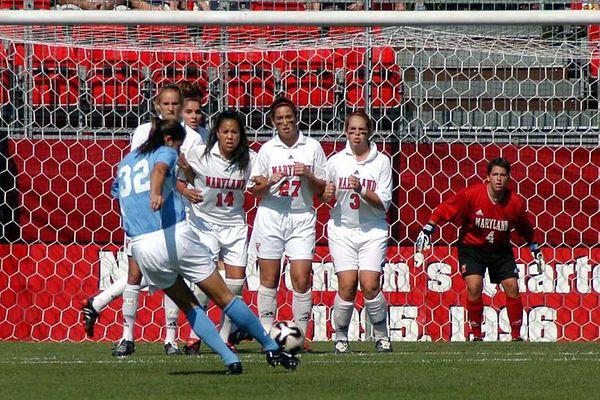 10/2/2005 UNC vs. U of MD Women's Soocer