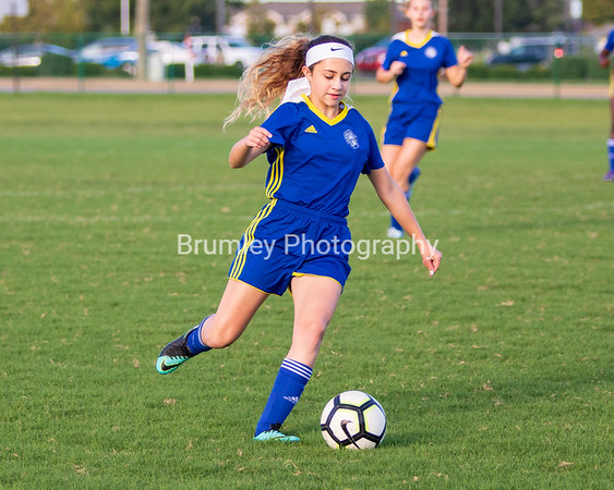 MS Varsity Girls Soccer vs EDS 9-26-18