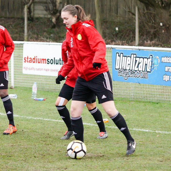 Crawley Wasps Ladies (4) vs Leyton Orient WFC (1) on January 27, 2019 at Oakwood Football Club, Tinsley Lane, Crawley RH10 8AT, Crawley. Photo: Ben Davidson, www.bendavidsonphotography.com - 1901270011