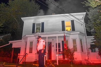Structure Fire - 70 Wachusett St, Fitchburg, MA - 9/4/18