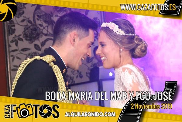 BODA MARIA DEL MAR Y FRANCISCO JOSE - 2 NOVIEMBRE 2019
