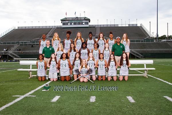 2020 Girls JV Lacrosse