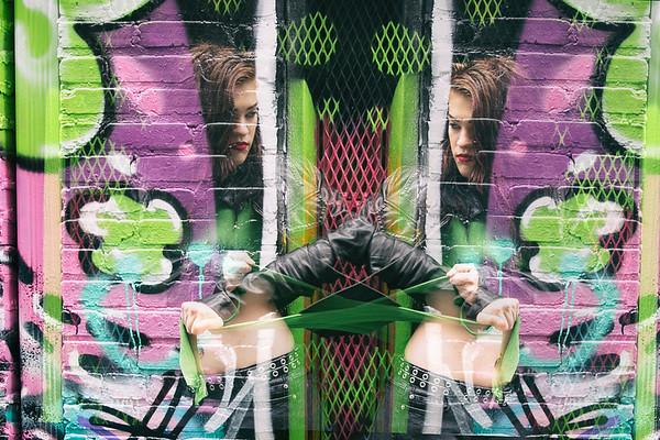Graffiti Alley In October 2018