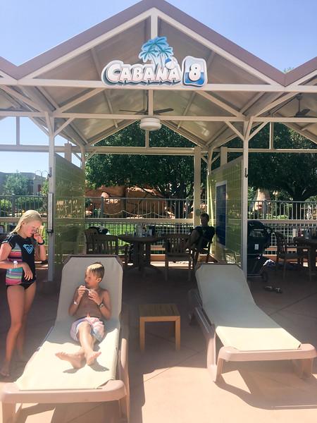 Roaring Springs cabana