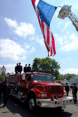 "Robert C. ""Hawk"" Meyer Funeral, Belford FD"