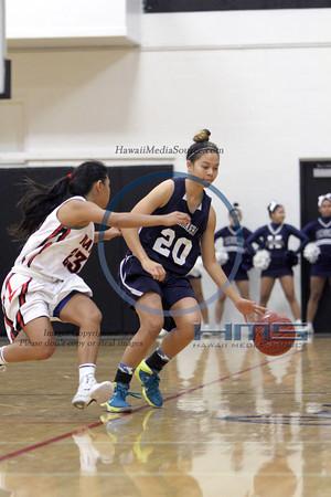 Kamehameha Girls Basketball - Iol 1-4-14