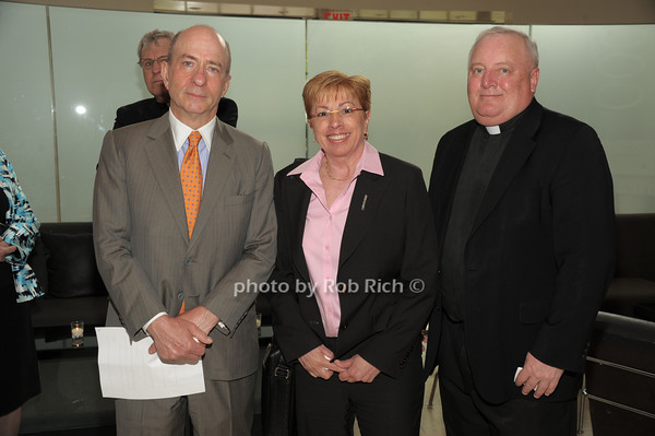 Dan Kurtz,Maggie Raabe, Father Pat West   photo  by Rob Rich © 2014 robwayne1@aol.com 516-676-3939