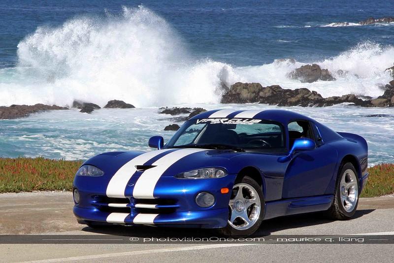 Viper GTS at the Pacific Coast.
