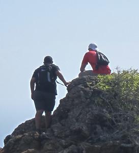 Hikers Koko Crater